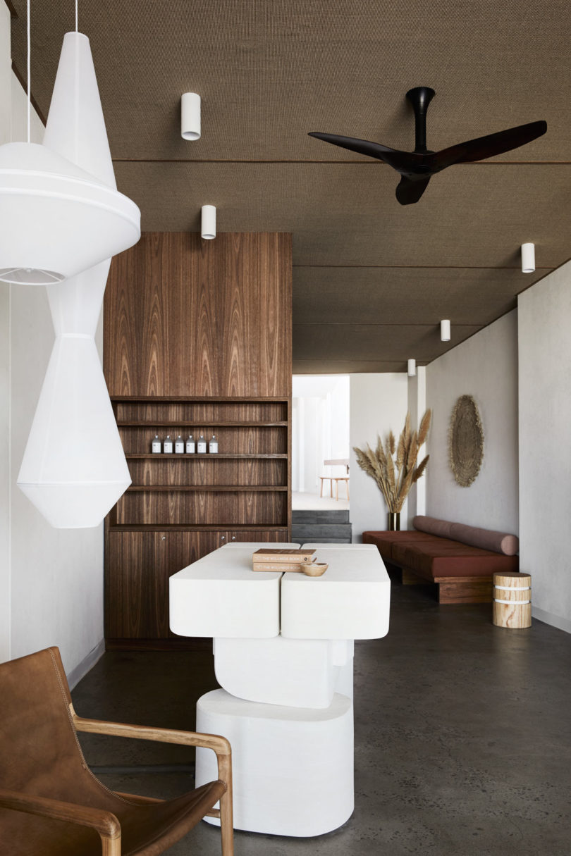Golden Delivers An Organic Sensory Focused Yoga Studio For Warrior One