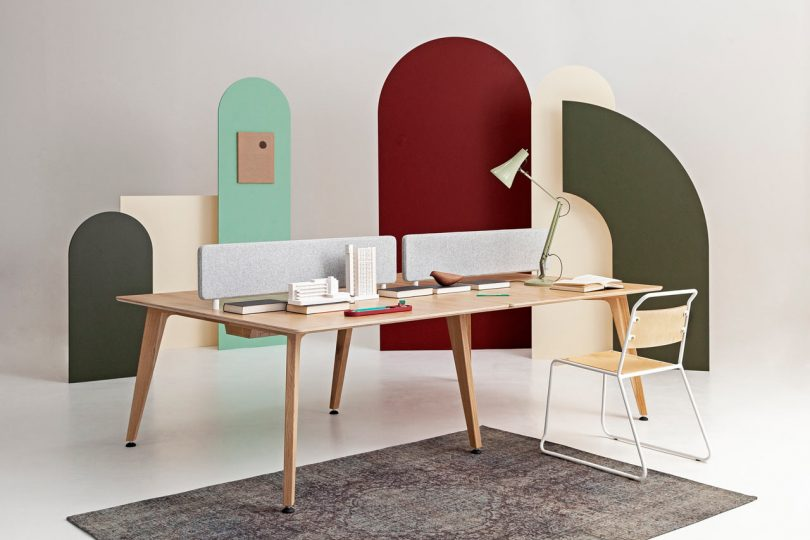 Liqui Contracts Unveils the Theodore Bench Desk System