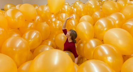 Claustrophobic Balloons and a Multilingual Parrot: A Summer of Interactive Art