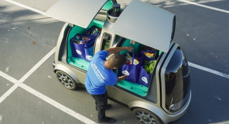 This Cute Self-Driving Car May One Day Deliver Your Groceries
