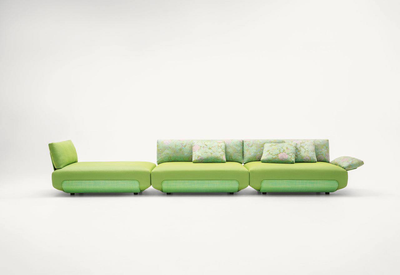 The Oasi Outdoor Seating System by Francesco Rota for Paola Lenti