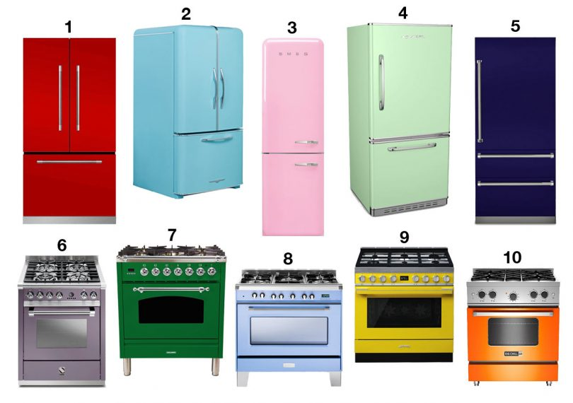 10 Colorful Kitchen Appliances That Will Make You Say Goodbye to Stainless