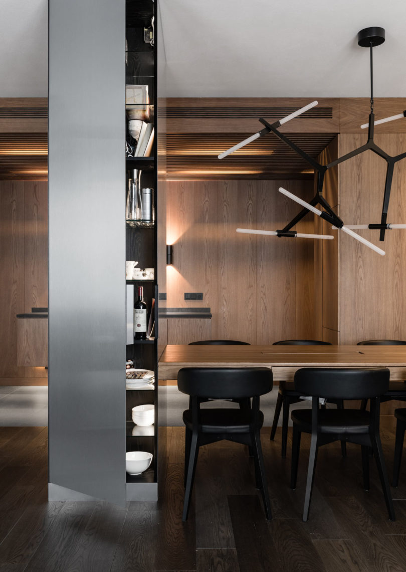 A Modern Apartment in St. Petersburg Inspired by a Luxury Hotel Suite