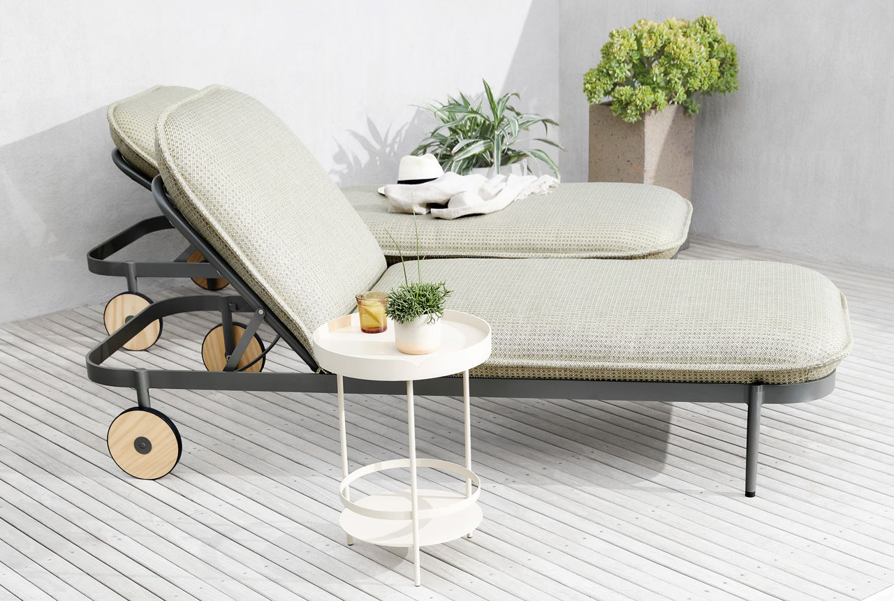 Tait Adds the Trace Sunlounge to Adam Goodrum's Trace Collection