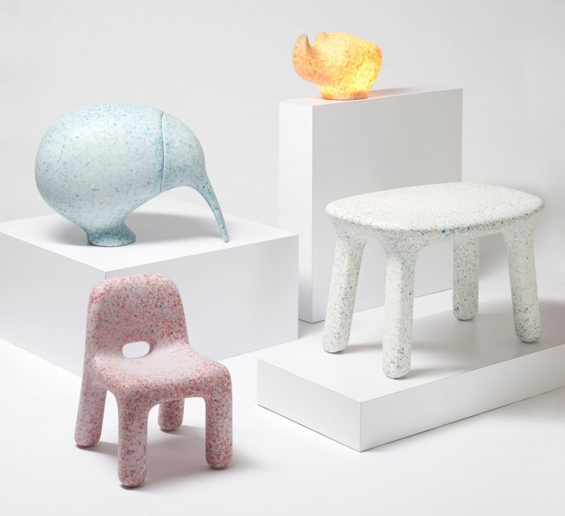 ecoBirdy Creates Kid's Furniture Made From Old Plastic Toys