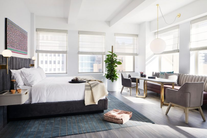 Juniper Lighting Plays a Major Role at the Assemblage John Street Hotel + Co-Working Space