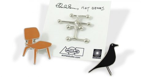 Charles & Ray Eames Pins from ACME Studios