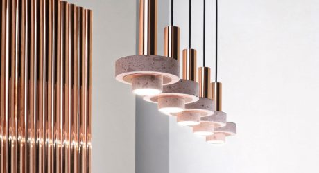 Studio davidpompa Expands Cantera Rosa and Copper Ambra Lighting Collection