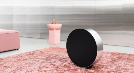 Bang & Olufsen's Beosound Edge Sonically Circular Design Reveals a Delightful Surprise