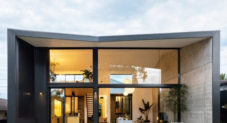 A Bungalow In Sydney Gets A Dramatic, Pavilion Like Addition