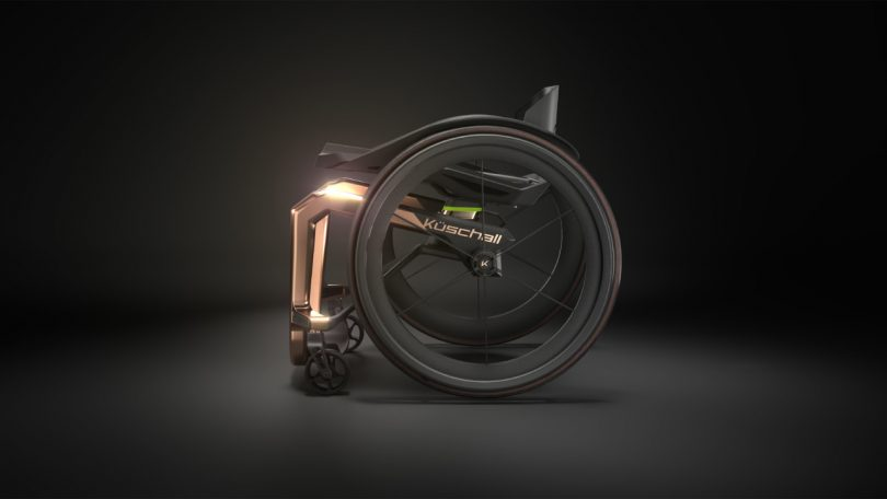 Küschall Superstar: The World's Lightest Wheelchair Made with Space-Age Materials