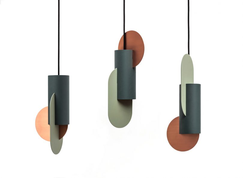 Suprematic Lighting and Vase Collection by NOOM