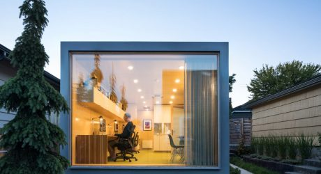 Randy Bens Turns a Shipping Container into an Architecture Studio