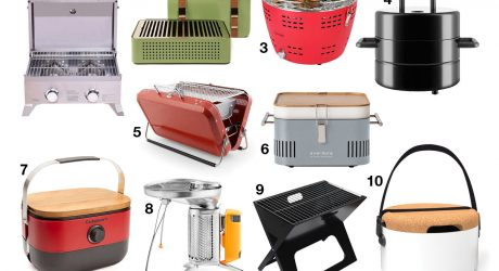 10 Modern, Portable Grills That Will Help You Keep Summer Alive