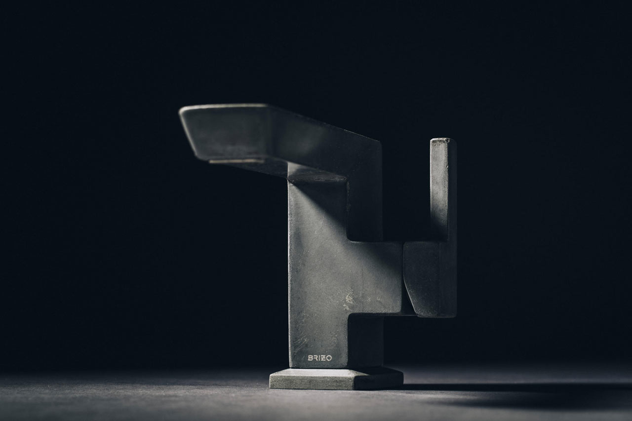 Brizo Unveils the Limited Edition Vettis Concrete Faucet