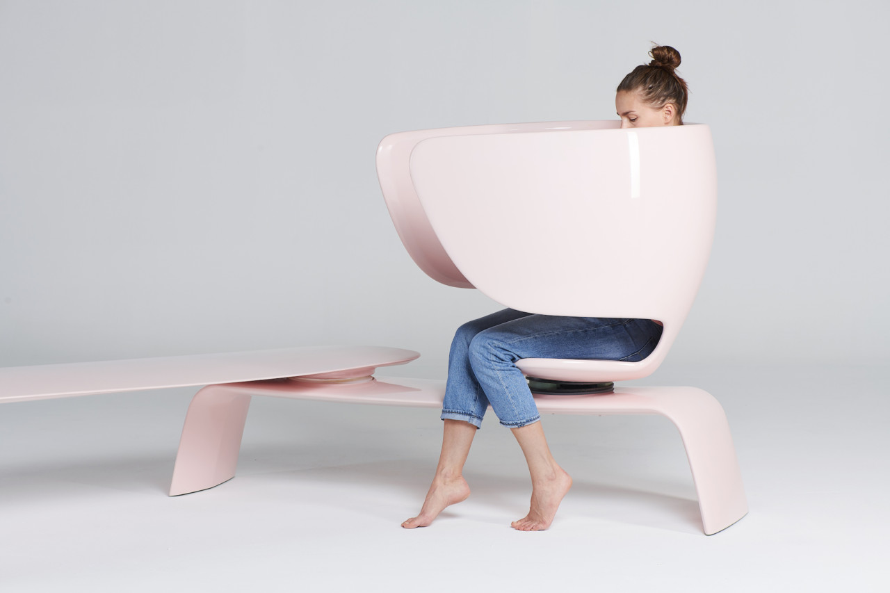 Moms Breastfeed Heer: An Ergonomically-Designed Bench for Nursing in Public Spaces