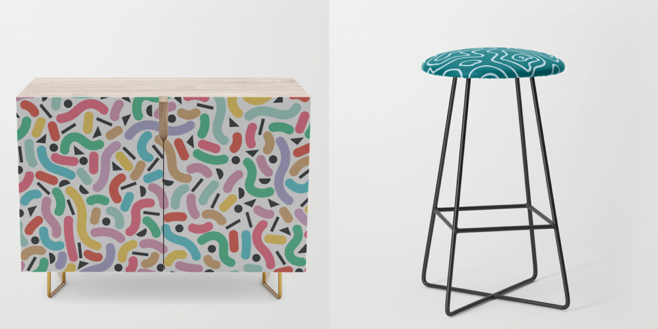 Fresh from the Dairy: 10 Favorites from Society6's New Furniture Collection
