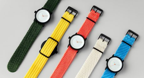 TID Watches Collaborates with Clara von Zweigbergk on a Collection of Knitted Wristwatches