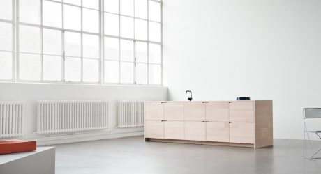 UP Minimalist Kitchen by Lendager Group