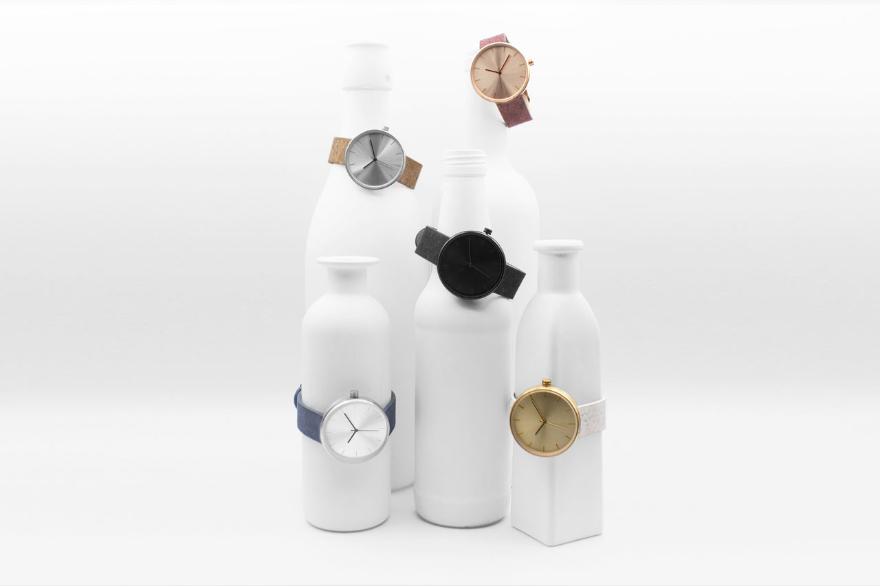 Analog Watch Co. Designs a Watch with Wine-Dyed Cork Bands
