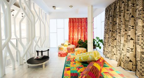 Moroso's London Showroom Unveiled an Exhibition of Furniture and Textiles by Bethan Laura Wood
