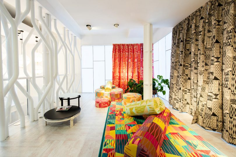 Moroso?s London Showroom Unveiled an Exhibition of Furniture and Textiles by Bethan Laura Wood