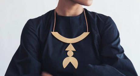 New Modern Jewelry From Adorn Milk: Metal and Nylon