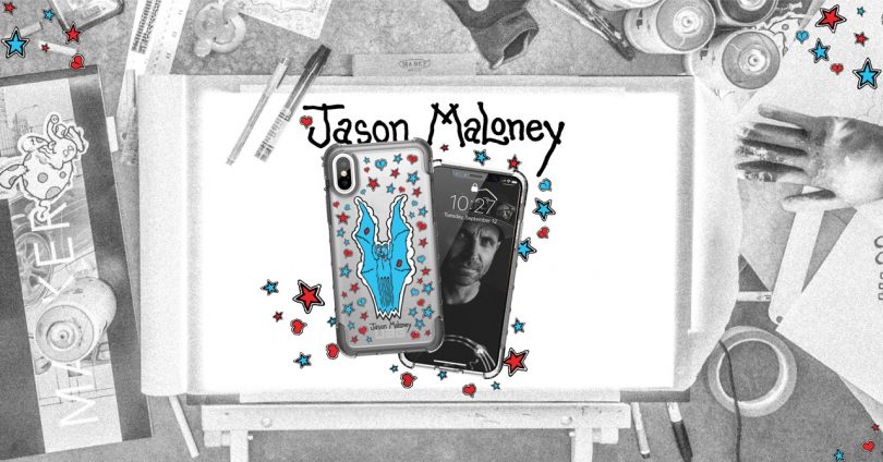 Dive into the Drawing Process of the Urban Armor Gear x Jason Maloney Limited Art Series iPhone Cases