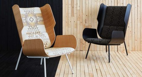 Gus* Modern x Pendleton Woolen Mills Collaborate on a 2nd Chair Collection