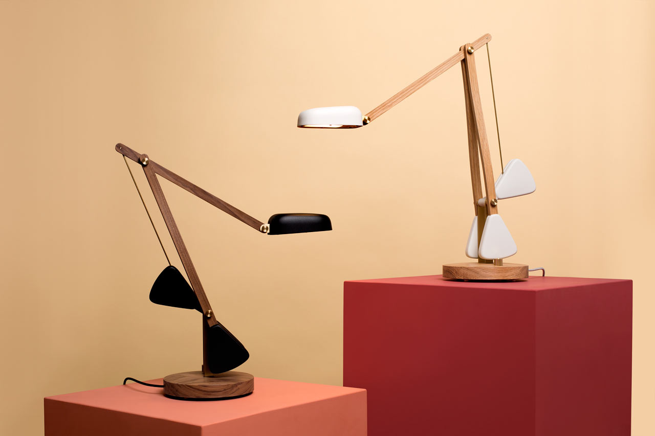 The Herston Self-Balancing, Easy-to-Adjust Desk Lamp