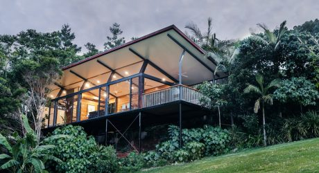 A Private Sanctuary Hidden in the Rainforest in Byron Bay