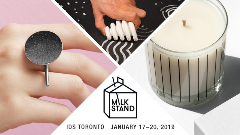 Open Call: Apply to Exhibit at Our Next Milk Stand Pop-Up Shop at IDS Toronto!