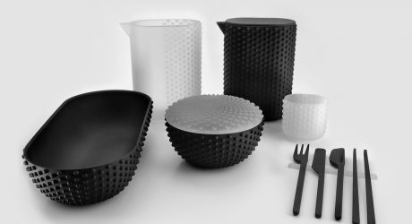 Joe Doucet Designs for the Future of Dining with 3D Printed Hybrid Vessels