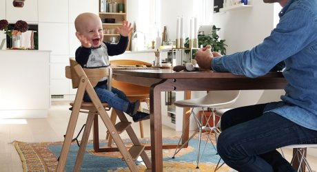 A Slim Fit, Foldable High Chair That Took Five Years To Perfect