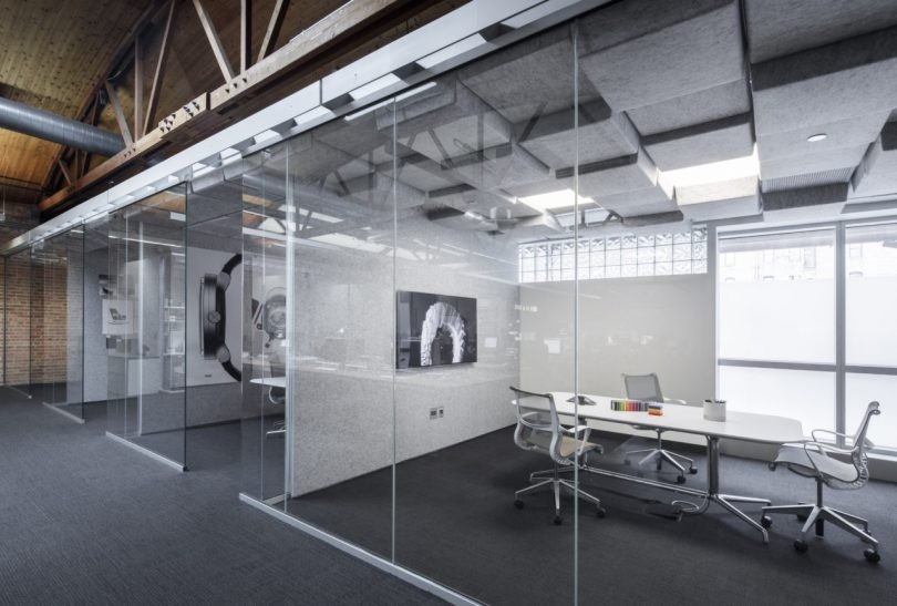 Crease A Range Of Modular Acoustic Ceiling Tiles By Turf Design And Mnml Interior Design Blogs