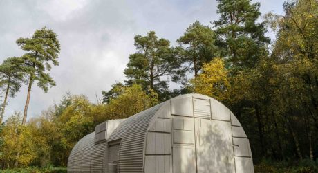 Rachel Whiteread Nissen Hut Casts History onto Prefabricated Architecture