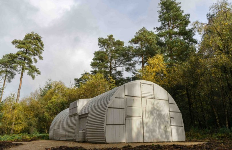 Rachel Whiteread Nissen Hut Casts History onto Prefabricated Architecture