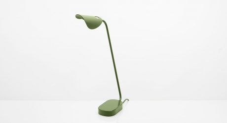 The Gota Sustainable Lamp Is Made from Recycled Aluminum