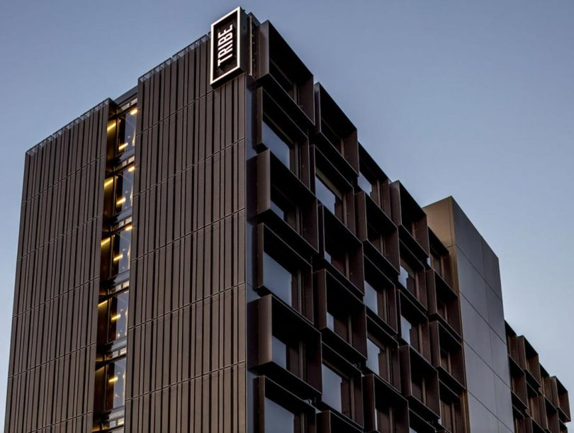 The Tribe Hotel Perth Is Made up of 63 Prefab Modules Constructed Off-Shore