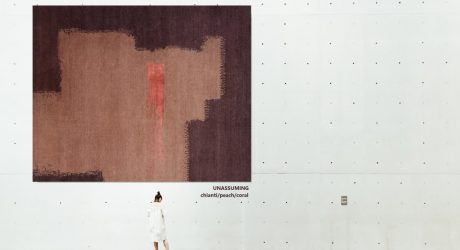 The Untitled Collection of Rugs by Jaime Derringer x Woven Concepts Highlights the Beauty of a Brushstroke