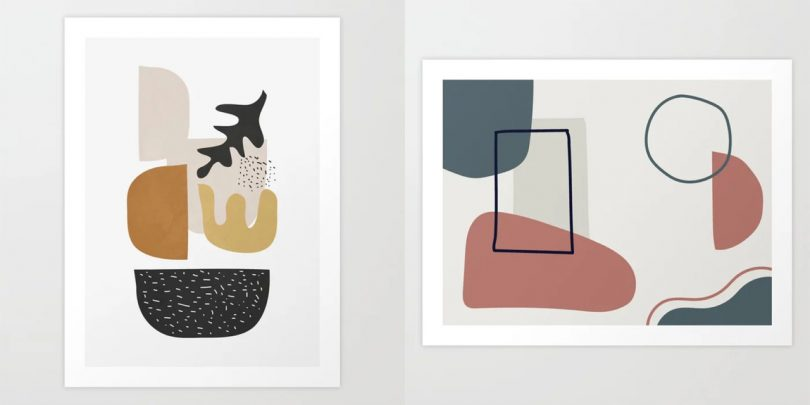Fresh From The Dairy: Abstract Art Prints