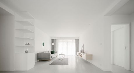 Y Home Minimalist Apartment by Office ZHU