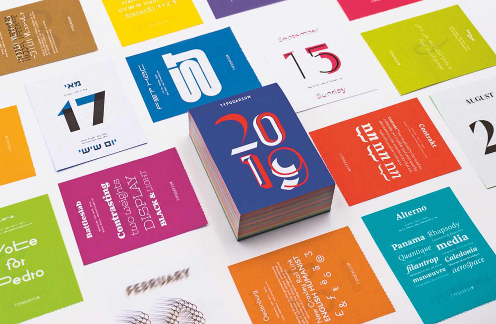 20 Modern Calendars For 2019 Design Milk