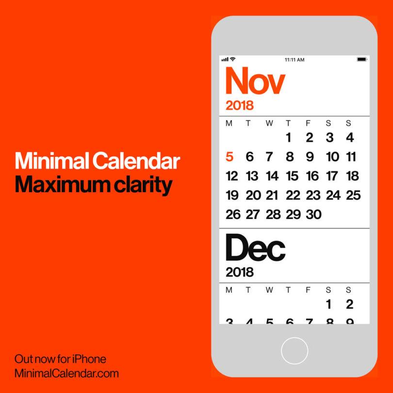 20 modern calendars for 2019 design milk