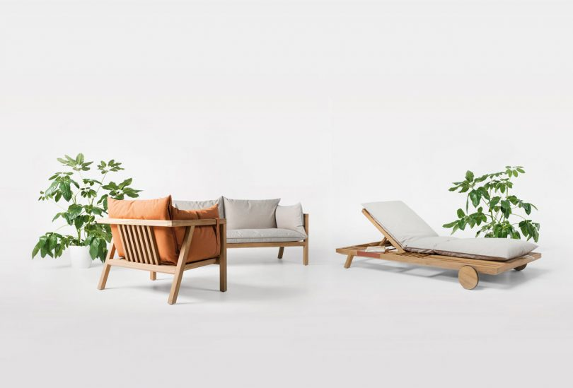 Umomoku: A Comfortable Outdoor Furniture Collection Designed for Lounging