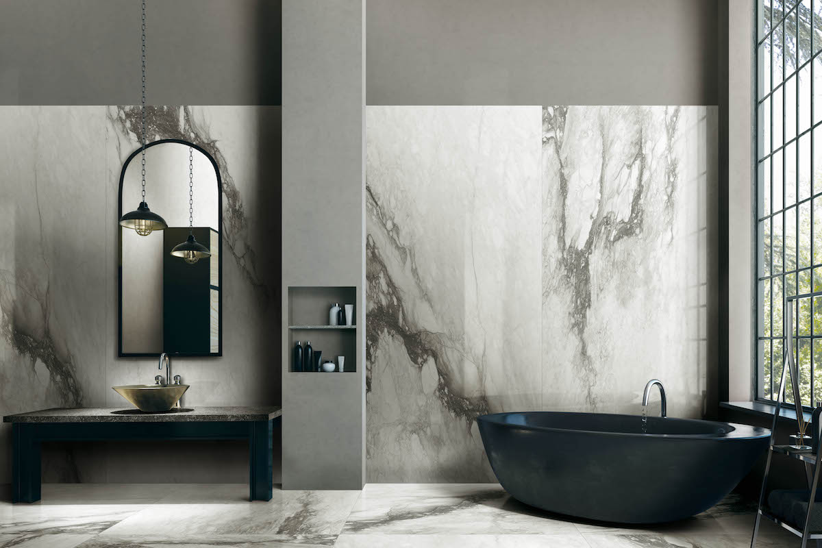 Design Innovation from Florim: The Look of Marble with the Durability of Porcelain Tiles