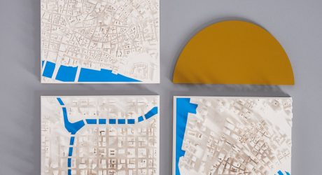 Chisel & Mouse Turns Cities into 3D Model Maps Using Digital and Handcrafted Techniques