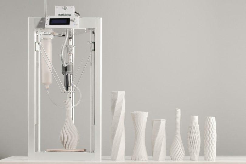 Cerambot Is an Affordable 3D Ceramics Printer