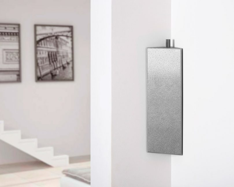 The Lexon Prisme Speaker Angles Into Any Corner