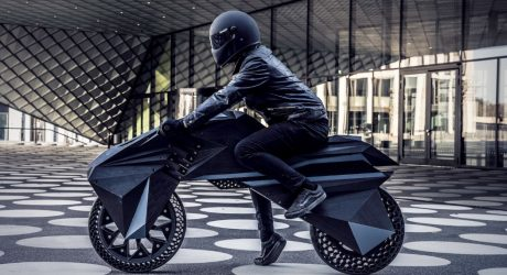 The World's First Fully 3D Printed e-Motorcycle